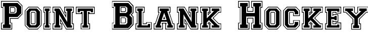 pbhockey font